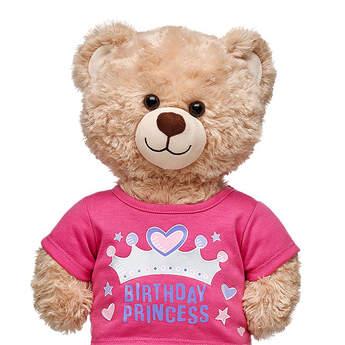 Birthday Princess T-Shirt - Build-A-Bear Workshop®