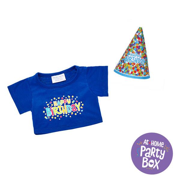 Party Animal Birthday Box (Blue) – 4 People, , hi-res