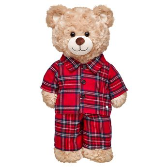 Red Plaid PJs 2 pc., , hi-res