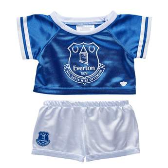 d0984380 Cheer on Everton F.C. with this blue and white football jersey that' ...