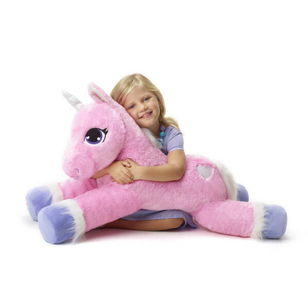 Online Exclusive Jumbo Pink Unicorn - Build-A-Bear Workshop®