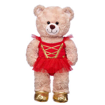Red Ballerina Costume - Build-A-Bear Workshop®