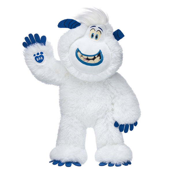 smallfoot migo yeti stuffed animal standing and waiving