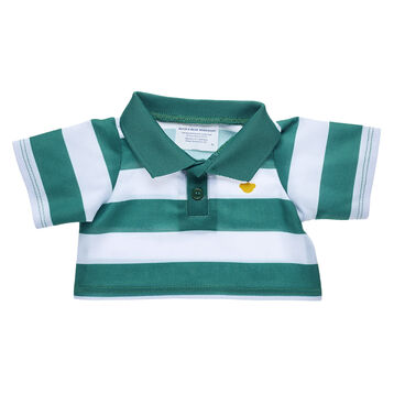 Green and White Rugby Shirt, , hi-res