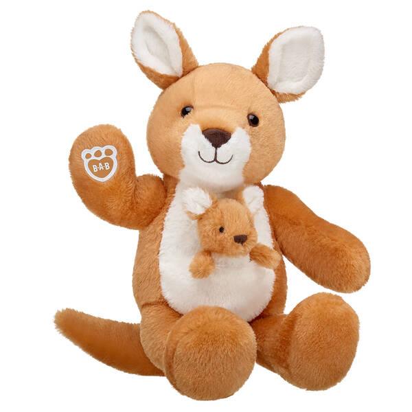 Online Exclusive Kangaroo and Joey - Build-A-Bear Workshop®