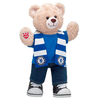 Happy Hugs Teddy Chelsea F.C. Scarf Gift Set, , hi-res