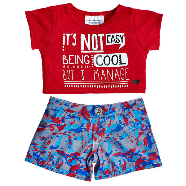Not Easy Being Cool T-Shirt Outfit 2 pc., , hi-res