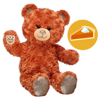 Online Exclusive Scented Pumpkin Sparkle Bear, , hi-res