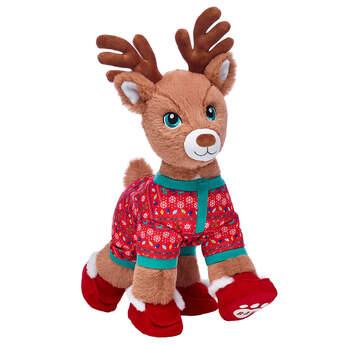 Santa's Reindeer Red Sleeper Gift Set, , hi-res