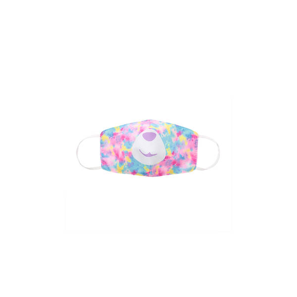 Child-Size Tie-Dye Bear Face Mask - Build-A-Bear Workshop®