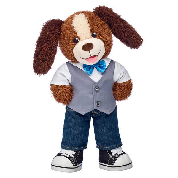 Playful Pup Vest & Bow Tie Gift Set, , hi-res