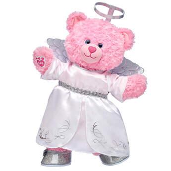 Pink Cuddles Teddy Angel Gift Set, , hi-res