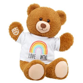 Online Exclusive Happy Brown Bear Love Wins Gift Set, , hi-res