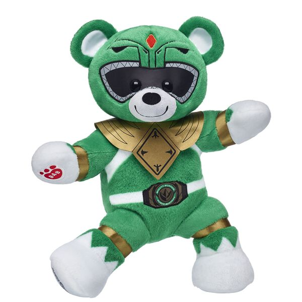 Power Rangers™ Green Ranger Bear, , hi-res