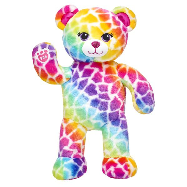 Rainbow Safari Bear, , hi-res