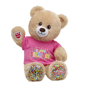 Birthday Treat Bear Pink Gift Set, , hi-res