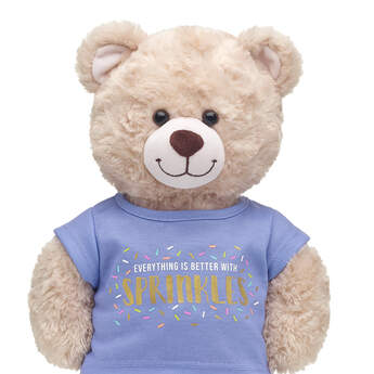 Online Exclusive Everything Is Better with Sprinkles T-Shirt - Build-A-Bear Workshop®