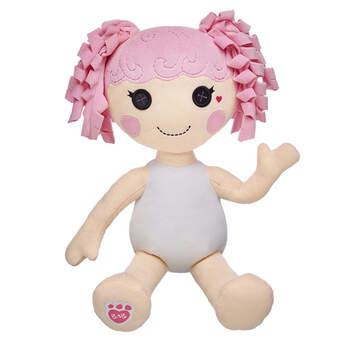 Jewel Sparkles™ was made from remnants of a real princess' dress. She is very graceful, a little bit bossy, and loves to dance and wear sparkly clothes. Personalize this friend with outfits and accessories to make the perfect unique gift.© MGA
