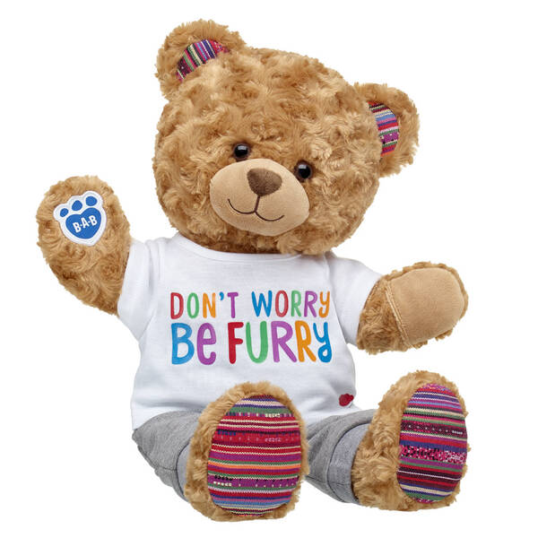 Online Exclusive Worry-Free Bear Grey Joggers Gift Set, , hi-res