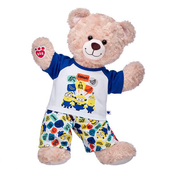 Happy Hugs Teddy Minion Pyjamas Gift Set, , hi-res