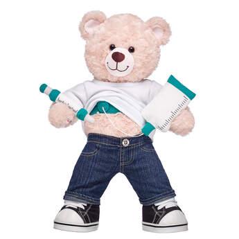 Online Exclusive Happy Hugs Teddy Medical Port Kit Gift Set, , hi-res