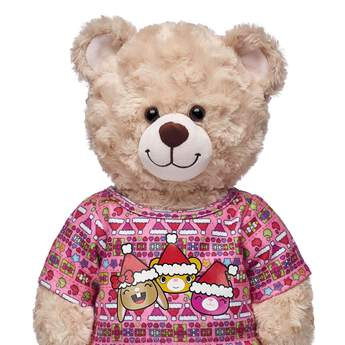 Have yourself a merry Kabu Christmas! Make it beary and bright this season with this colourful Kabu Christmas sweatshirt. It features the Kabu crew in Santa hats on top of a fun all-over pattern!