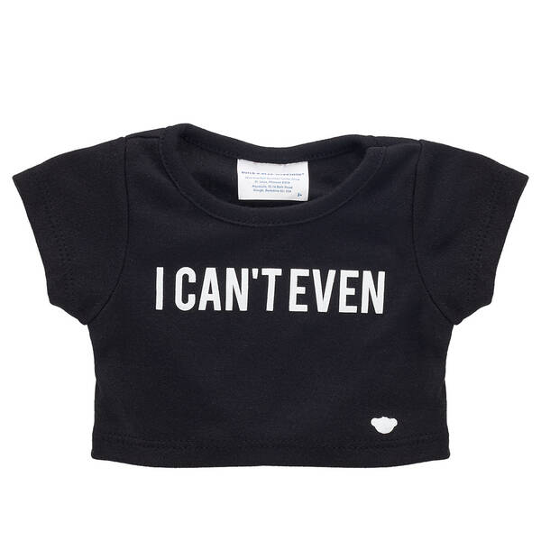 Online Exclusive I Can't Even T-Shirt - Build-A-Bear Workshop®