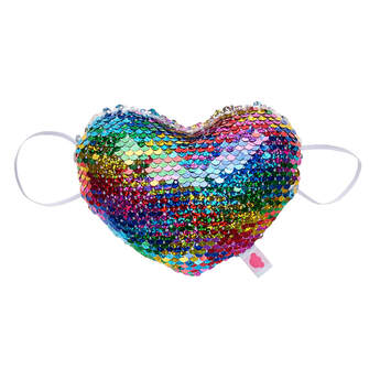 Reversible Sequin Heart Accessory - Build-A-Bear Workshop®