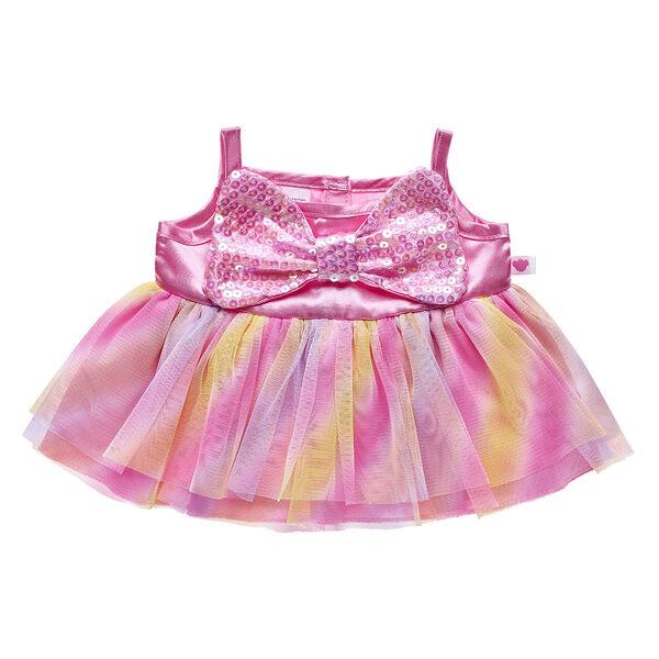 Pink Bow Easter Dress, , hi-res