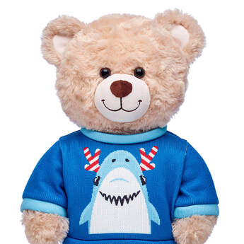Christmas Shark Sweater - Build-A-Bear Workshop®