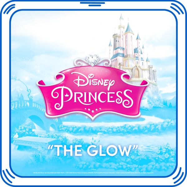 "Complete your Disney Princess Inspired Bear by adding ""The Glow"" Song to your furry friend.© Disney"