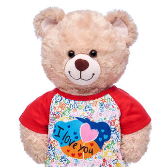 I Love You Doodle T-Shirt - Build-A-Bear Workshop®