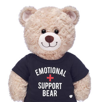 Online Exclusive Emotional Support Bear T-Shirt - Build-A-Bear Workshop®