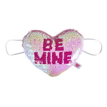 Be Mine Sequin Heart Wrist Accessory, , hi-res
