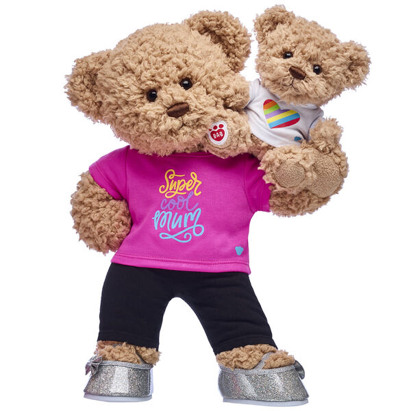 Classic Teddy Bear with Mini Version - Build-A-Bear Mother's Day Gift Set