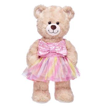 Pink Bow Easter Dress - Build-A-Bear Workshop®