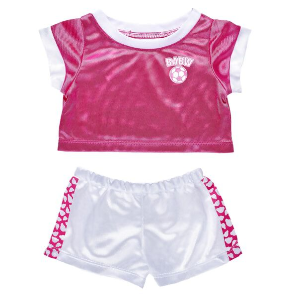 Pink Football Uniform 2 pc., , hi-res