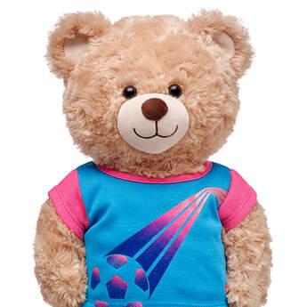 Pink & Blue Football T-Shirt - Build-A-Bear Workshop®