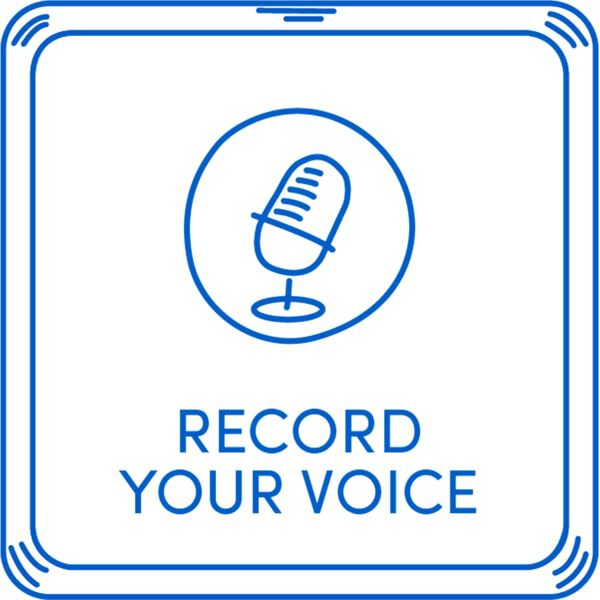 Personalized Record Your Voice Message, , hi-res