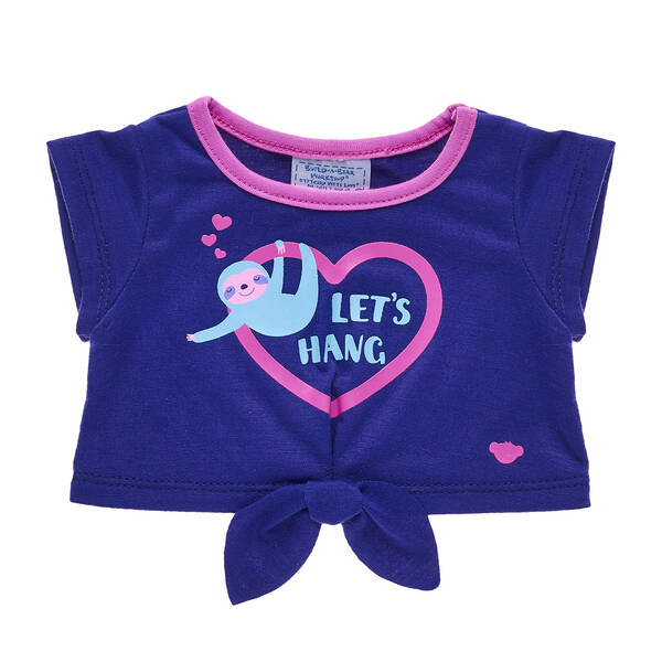27ff28d87 Valentine's Day Sloth T-Shirt for Stuffed Animals   Build-A-Bear®