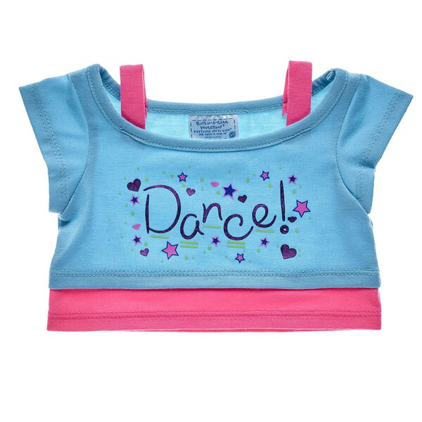 Let's dance! Your furry friend can twirl all day long while wearing this cute blue and pink dance top. Personalise a furry friend to make the perfect gift. Shop online or visit a store near you!