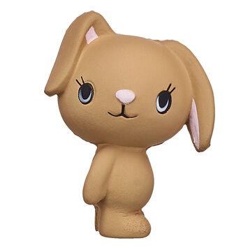 Pawlette sees the good in everyone and everything. This sweet bunny is PAWsitively cute in squishy form. Show off your Pawston pride with your own Kabu Pawlette bunny squishy! Shop online or in store at Build-A-Bear Workshop!