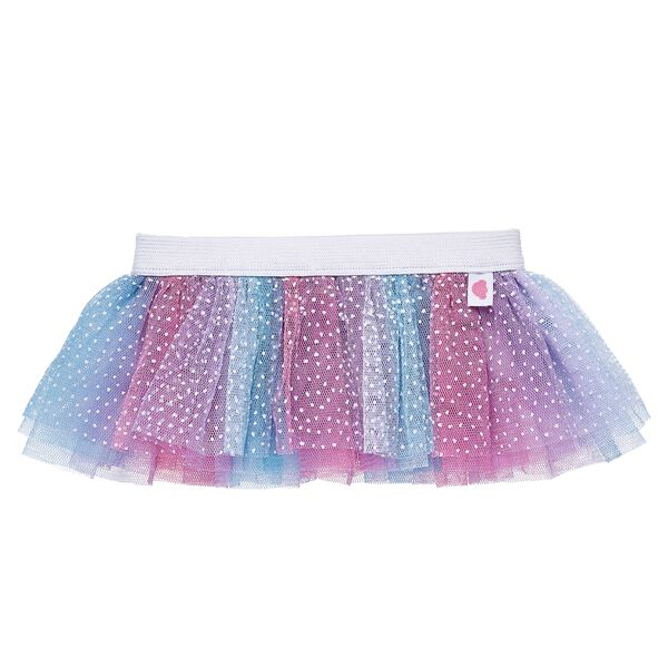 There's no tiptoeing around how cute this ballerina-inspired pastel tutu is! With a tulle blend of pink, purple and blue colours, this tutu also features a white waistband and a fun white polka dot pattern. Get ready to twirl your furry friend!
