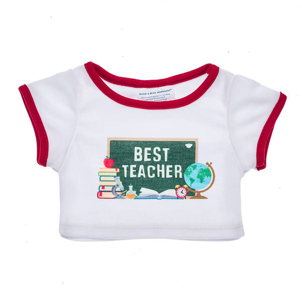 Online Exclusive Best Teacher T-Shirt - Build-A-Bear Workshop®