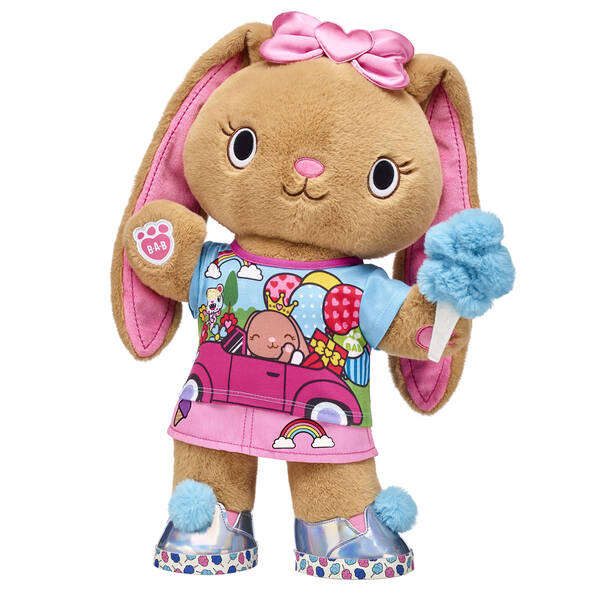 This creative and artistic Kabu bunny always sees the good in everyone and everything. Pawlette is hoppin' cute in her skirt outfit and cotton candy accessories. Her heart bow gives this cute gift set the PAWfect ear-do! <p>Price includes:</p>  <ul>    <li>Kabu™ Pawlette</li>     <li>Kabu™ Pawlette Skirt Set 2 pc. </li>    <li>Kabu™ Pink Heart Bow </li>    <li>Kabu™ Cotton Candy Wristie</li>    <li>Kabu™ Cotton Candy Sneakers  </li> </ul>