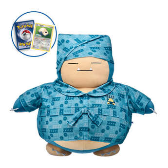 Online Exclusive 60cm Jumbo-Sized Snorlax with Robe and Sleeping Cap, , hi-res