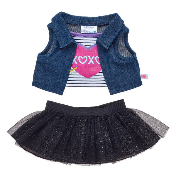 XOXO 2-Fer Skirt Set - Build-A-Bear Workshop®