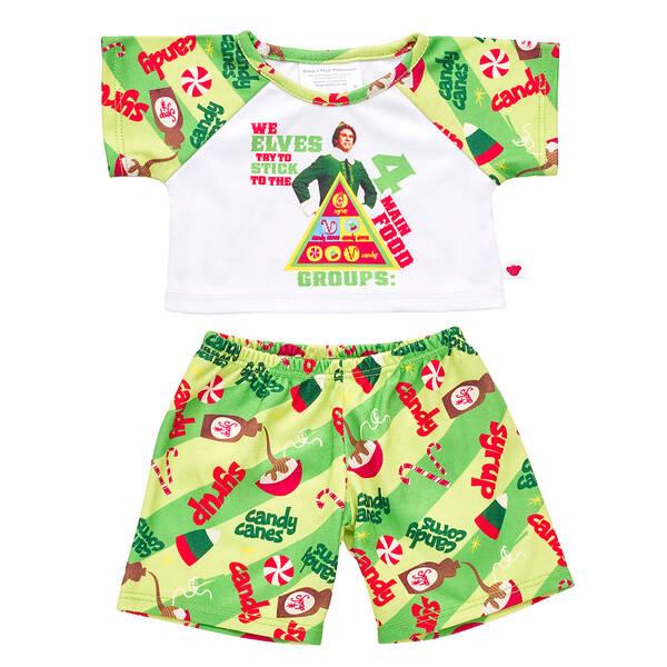 Online Exclusive Buddy the Elf™ Pyjama Set - Build-A-Bear Workshop®