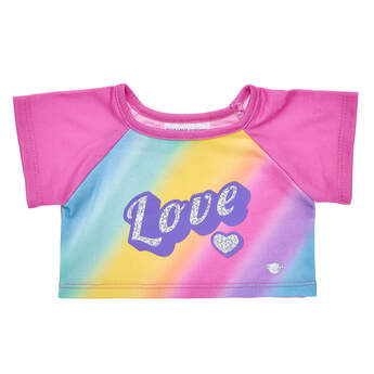 Rainbow Love T-Shirt - Build-A-Bear Workshop®
