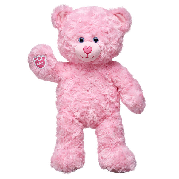 Pink Cuddles Teddy, , hi-res